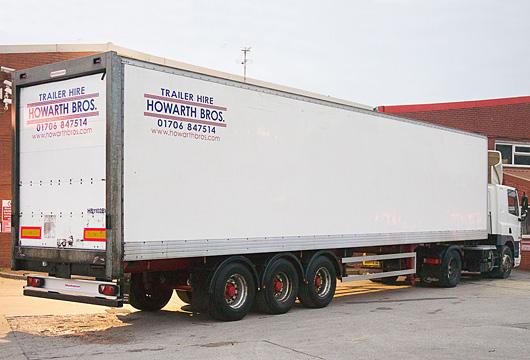 40ft box trailer rental manchester