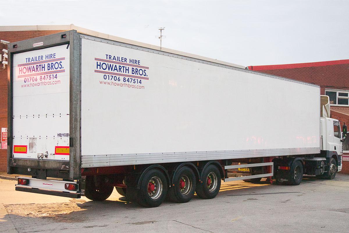 howarth bros commercial trailer rentals oldham manchester. Black Bedroom Furniture Sets. Home Design Ideas