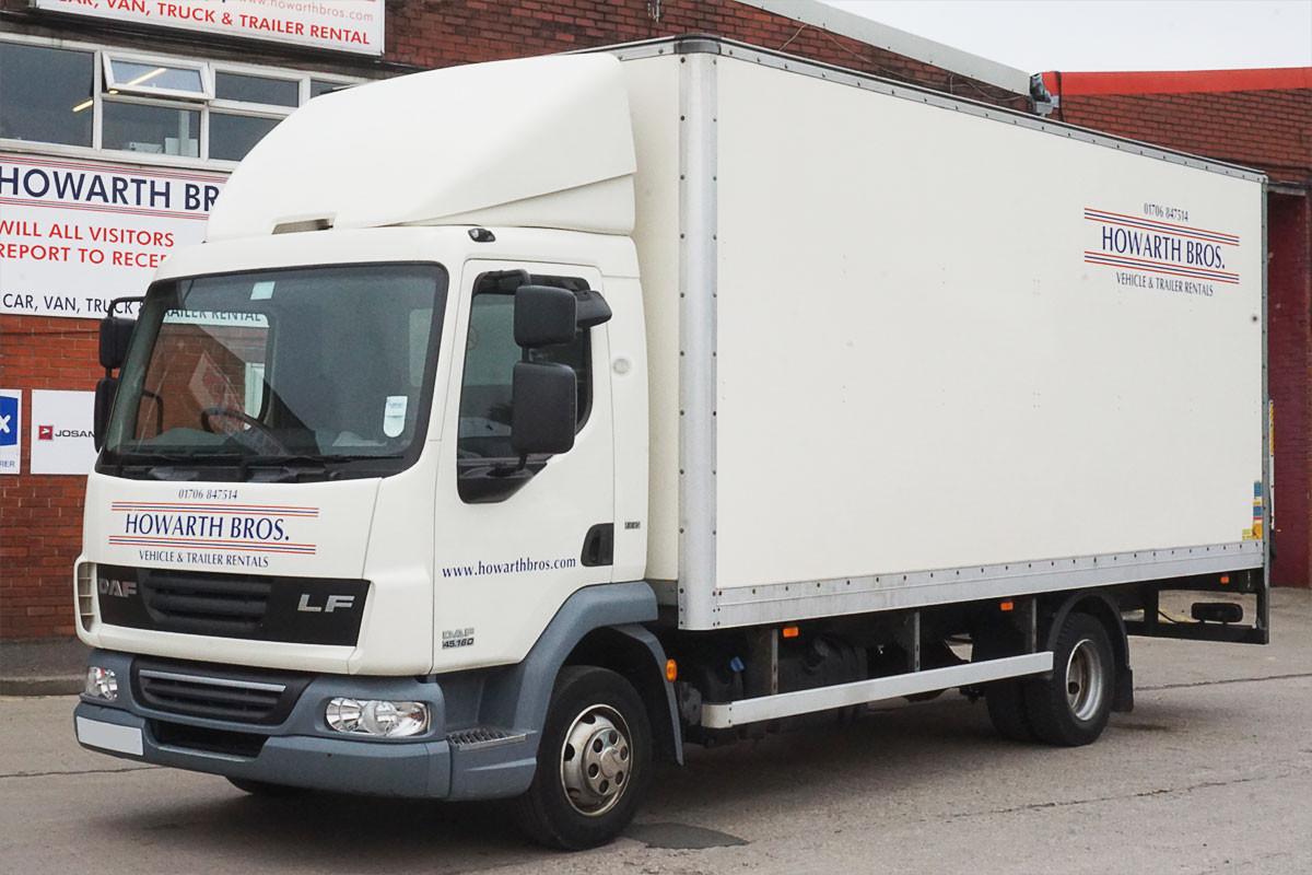 7.5 Ton Truck Rental Manchester