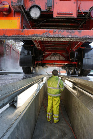 Commercial Vehicle Chasis Washing Service Manchester