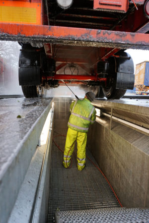 Commercial Vehicle Cleaning Service Manchester