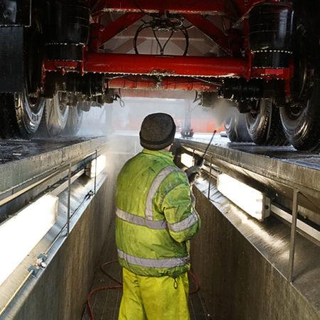 HGV Chasis Wash Service Manchester