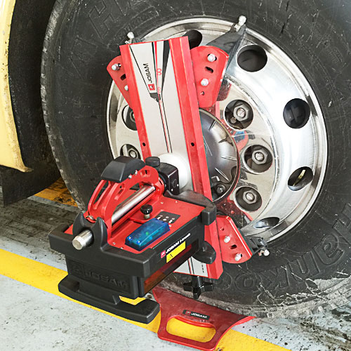 Josam wheel alignment commercial vehicles manchester