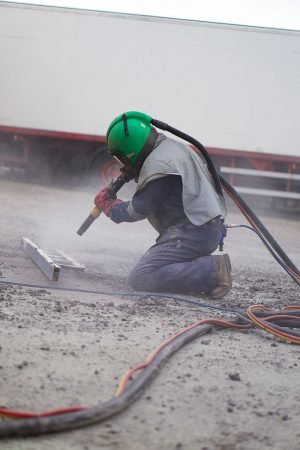 Mobile sand blasting services