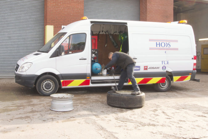Mobile tyre service hgv manchester