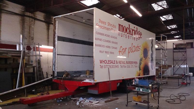 Refurbishment bodyshop paintshop commercial vehicle trailer services