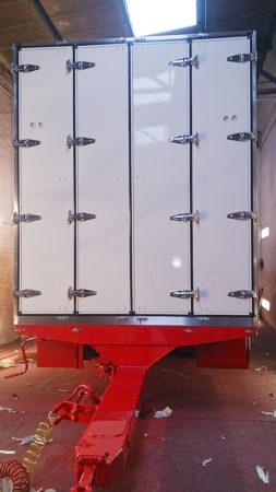 Refurbishment bodyshop paintshop commercial vehicle trailer services manchester