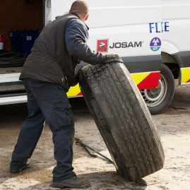 commercial vehicle tyre service manchester