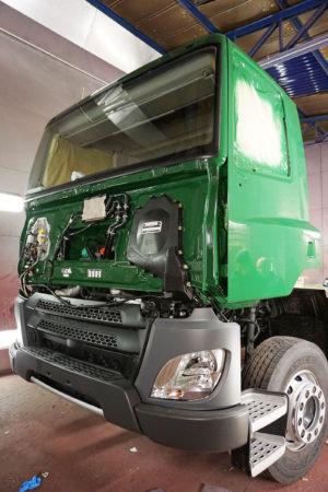 goods vehicle respray