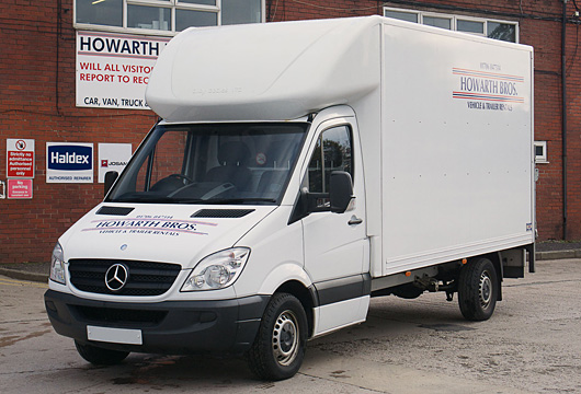 Howarth Brothers Commercial Vehicle Rentals Oldham Manchester
