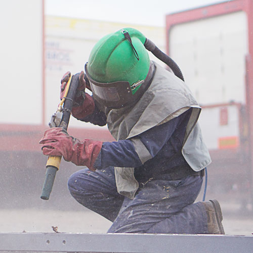 sandblasting services for commercial vehicles manchester